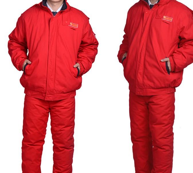 中国石油专用棉服 活里活面棉衣套装