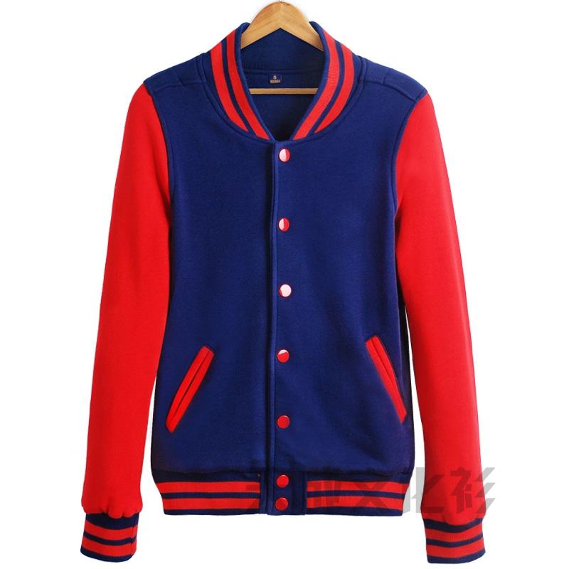 棒球服--蓝配红