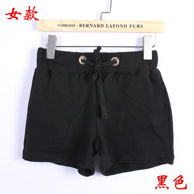 情侣卫裤女款--黑色