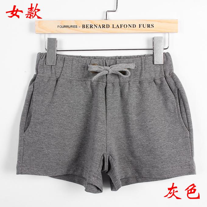情侣短裤女款--灰色