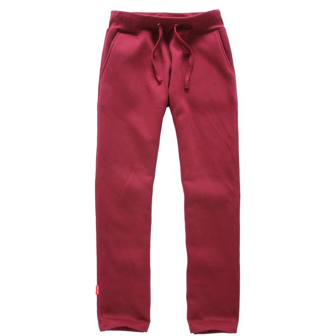 卫裤--枣红